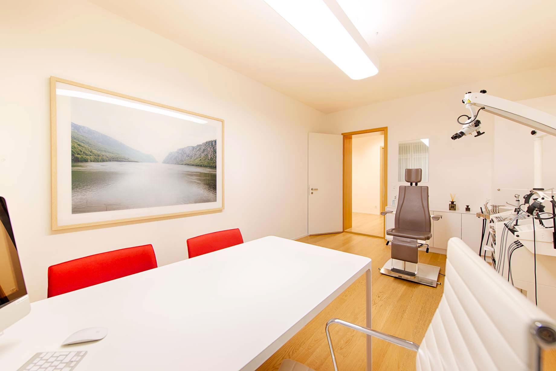 HNO medic Zürich Untersuchungsraum