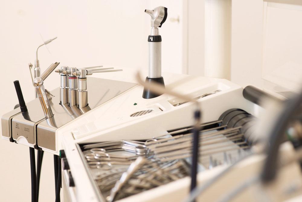 ENT practice of HNO medic Zurich practice room equipment