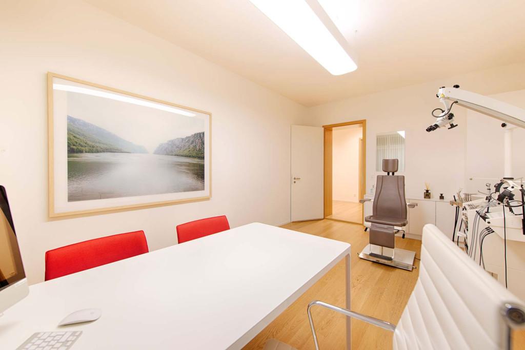 ENT practice of HNO medic Zurich practice room